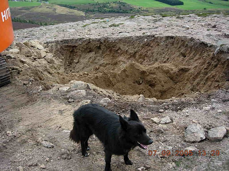 Borrow Pit Discovered!